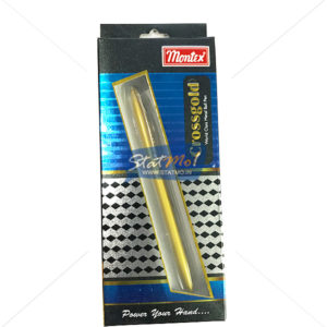 Montex Crossword Gold Metal Ball Pen by StatMo.in
