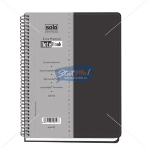 Solo Premium Note Book by StatMo.in