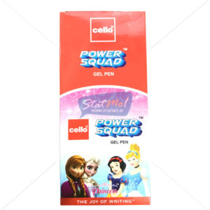 Cello Power Squad Gel Pen Princess by StatMo.in