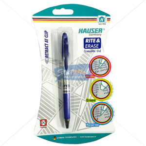 Hauser Rite & Eraser Erasable Gel Pen by StatMo.in
