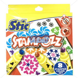Stic Stampozz 8 Stamper Color Set by StatMo.in