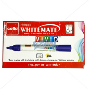 Cello White Mate Whiteboard Markers VIVID by StatMo.in