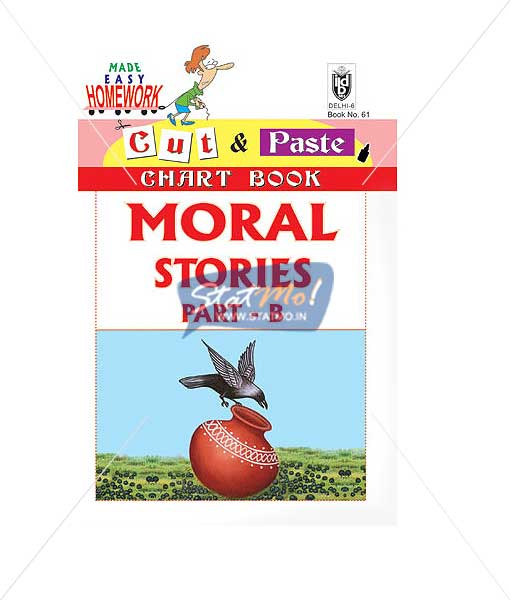 Cut and Paste Moral Stories Part B Picture Booklet by StatMo.in