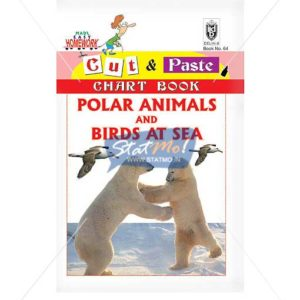 Cut and Paste Polar Amimals and Birds At Sea Picture Booklet by StatMo.in