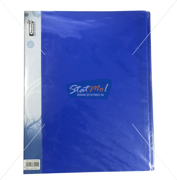 Securex Clear Display Book 30 Pockets A4 by StatMo.in