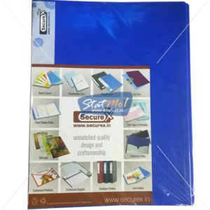 Securex Clear Display Book 40 Pockets A4 by StatMo.in