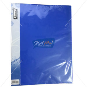 Securex Clear Display Book 60 Pockets A4 by StatMo.in