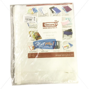 Securex Sheet Protector Classic A4 (Pack of 10)Securex Sheet Protector Classic A4 by StatMo.in