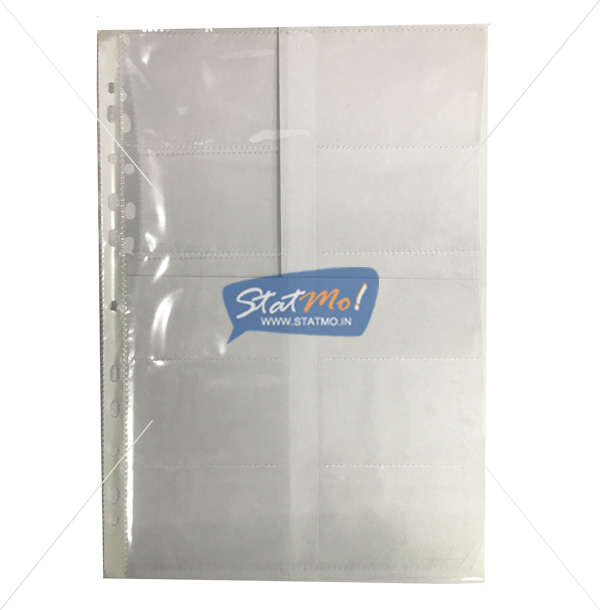 Securex Sheet Protector 20 Cards A4 by StatMo.in