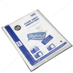 Solo Sheet Protector Silver 140 by StatMo.in