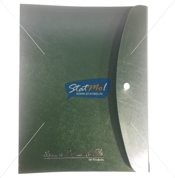 Securex Secure Document File A4 by StatMo.in