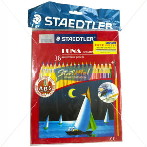 Staedtler Luna Classic Water Soluble Color Pencils Set of 36