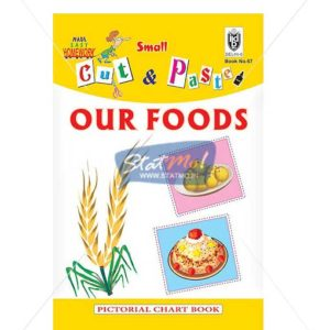 Cut and Paste Our Foods Picture Booklet by StatMo.in