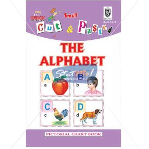 Cut and Paste The Alphabet Picture Booklet by StatMo.in