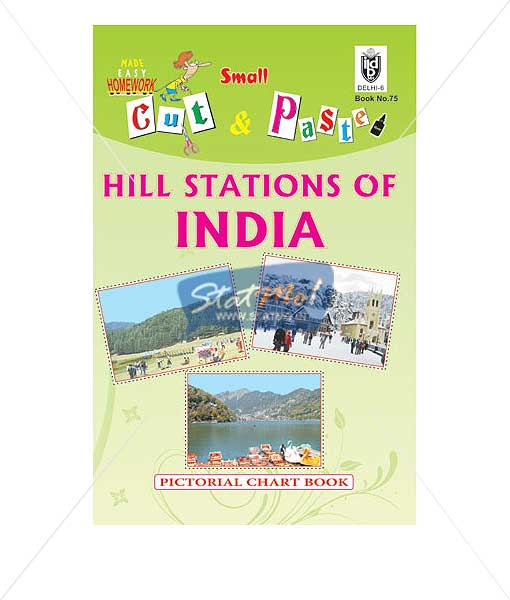 Cut and Paste Hill Stations of India Picture Booklet No.75
