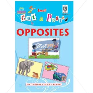 Cut and Paste Opposites Picture Booklet by StatMo.in