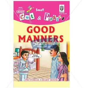 Cut and Paste Good Manners Picture Booklet by StatMo.in