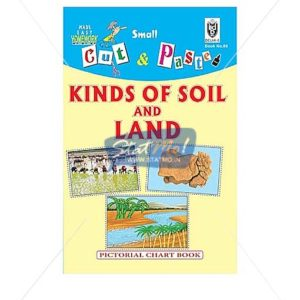 Cut and Paste Kinds of Soil and Land Picture Booklet by StatMo.in