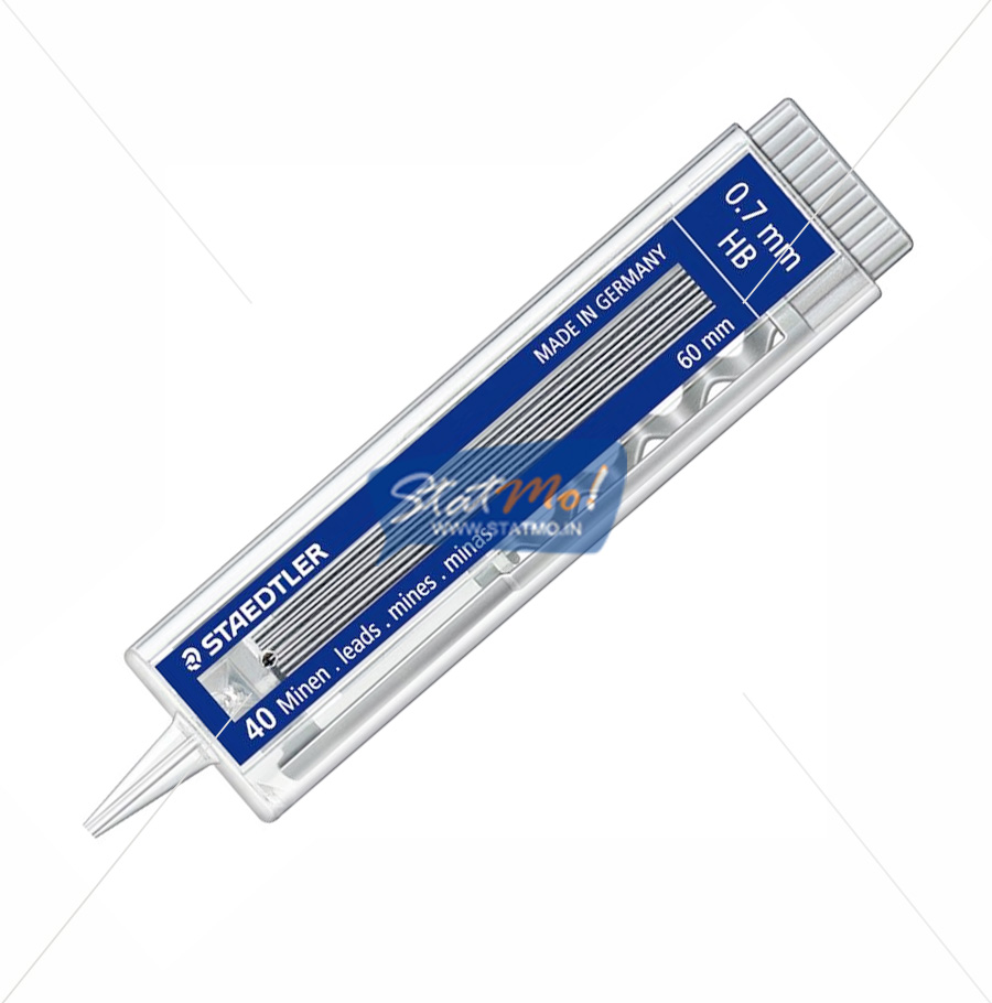 Staedtler Mechanical Pencil Leads Push Button Pack by StatMo.in