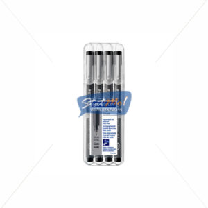 Staedtler Pigment Liner Pen Set of 4 by StatMo.in