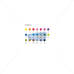 Staedtler Triplus Fine Liner 20 Brilliant Colours by StatMo.in