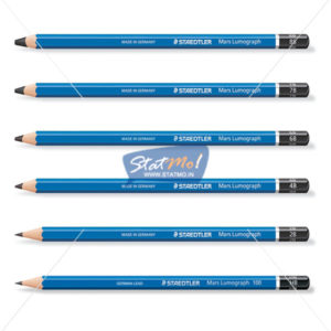 Staedtler Mars Lumograph Assorted Degree Pencil by StatMo.in