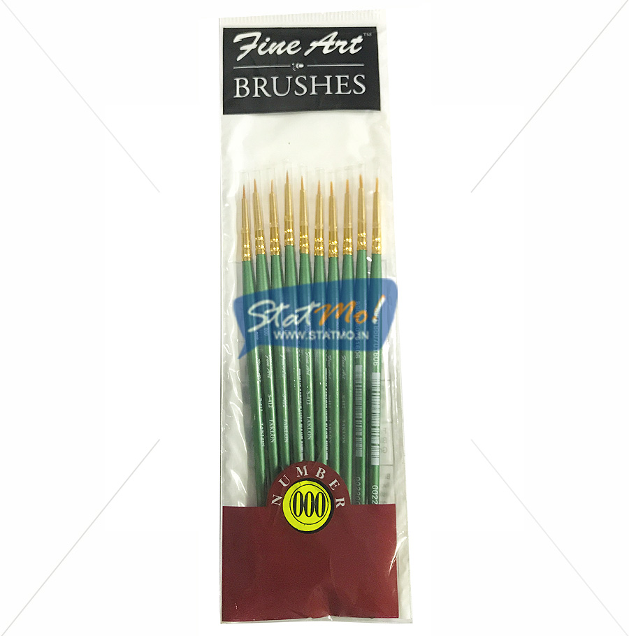 Pidilite Fine Art Brushes Pointed Round No-000 by StatMo.in
