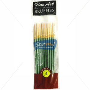 Pidilite Fine Art Brushes Pointed Round No-4 by StatMo.in