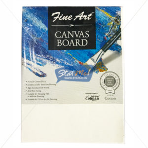 Pidilite Fine Art Canvas Board 15.24cm X 20.32cm (6 x 8 inch) by StatMo.in