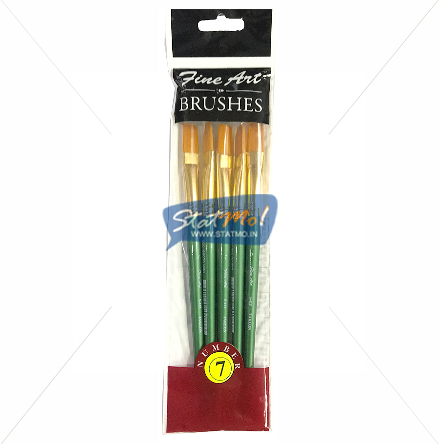 Pidilite Fine Art Flat Brushes No 7 by StatMo.in`