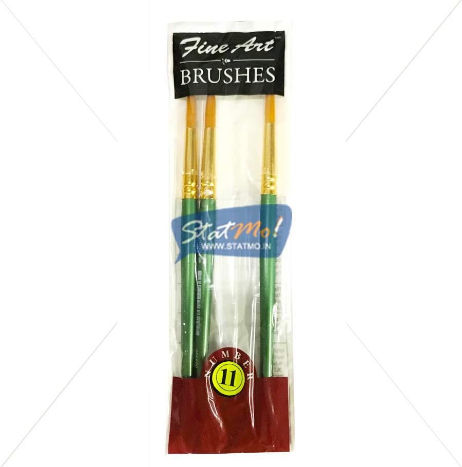 Pidilite Fine Art Brushes Pointed Round No-11 by StatMo.in