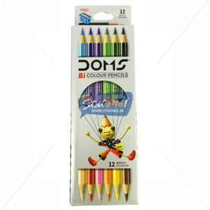 Doms Bi Colour Pencil 12 Shades by StatMo.in