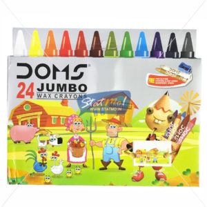 Doms Jumbo Wax Crayons 24 Shades by StatMo.in