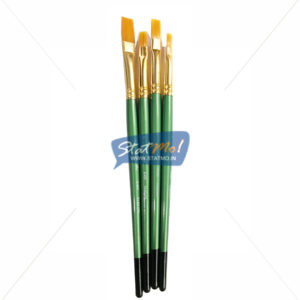 Pidilite Fine Art Brushes Flat Set by StatMo.in`