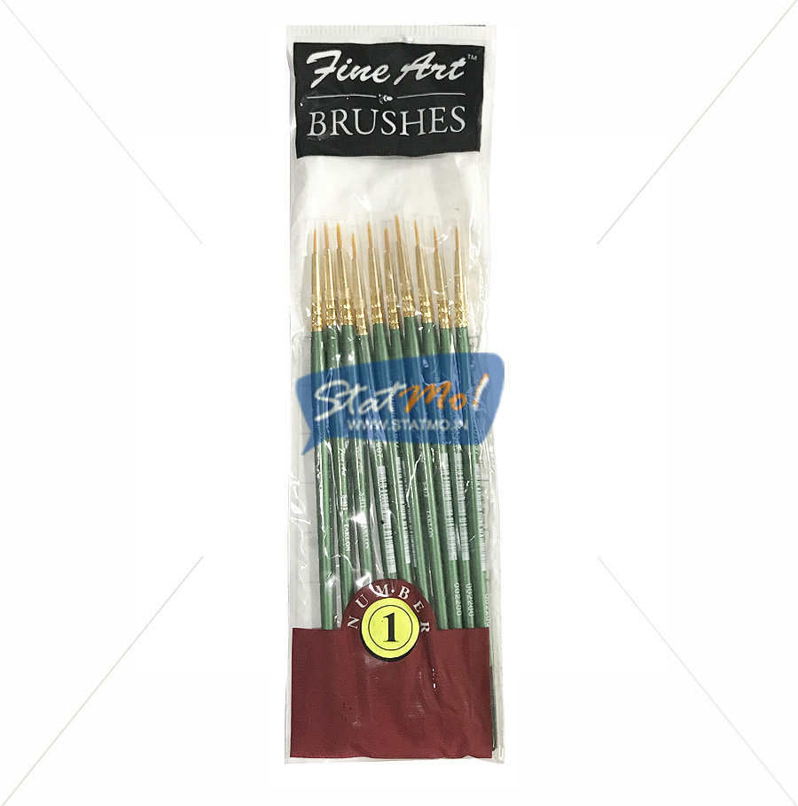 Pidilite Fine Art Brushes Pointed Round No-1 by StatMo.in