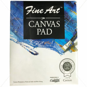 Pidilite Fine Art Canvas Pad 20.32cm X 25.40cm (8 x 10 inch) by StatMo.in
