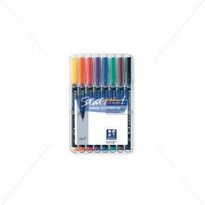Staedtler Lumocolor Fine Permanent Marker Pen Set of 8 by StatMo.in