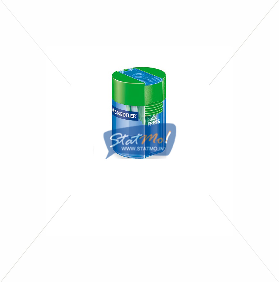 Staedtler Tub Sharpener Single Hole by StatMo.in