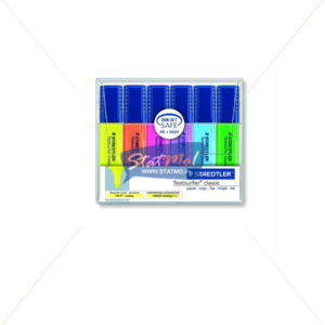 Staedtler Textsurfer Classic Highlighter Set of 6 by StatMo.in