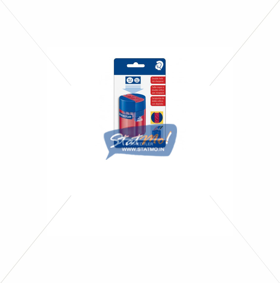 Staedtler Tub Sharpener Double Hole by StatMo.in