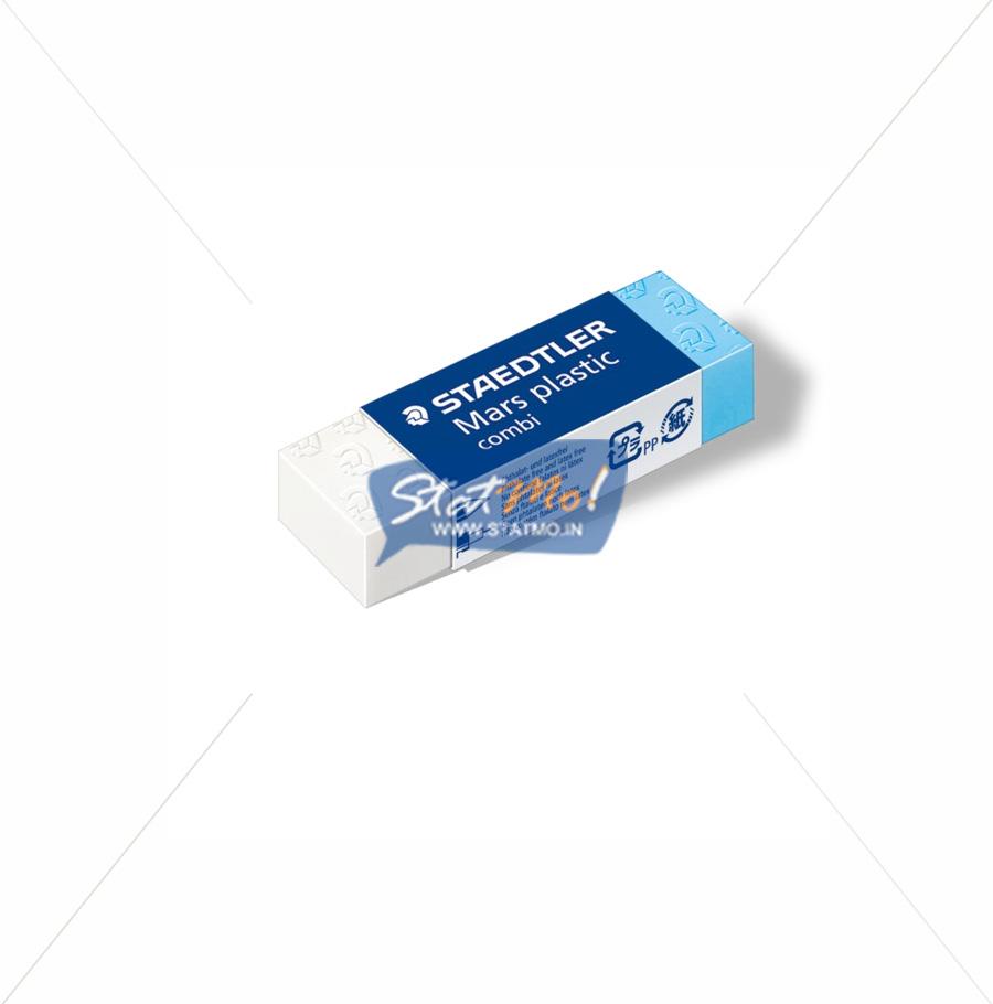 Staedtler Mars Plastic Combi Eraser by StatMo.in