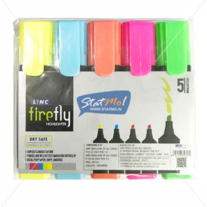 Linc Fire Fly Highlighter Assorted by StatMo.in