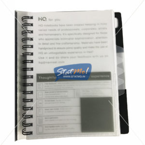 Navneet HQ A5 Five Subject Notebook by StatMo.in