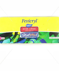Pidilite Fevicryl Acrylic Colours Sunflower Kit 10 Shades by StatMo.in