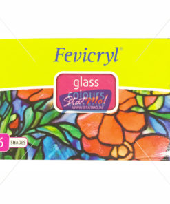Pidilite Fevicryl Glass Colours 6 Shades by StatMo.in