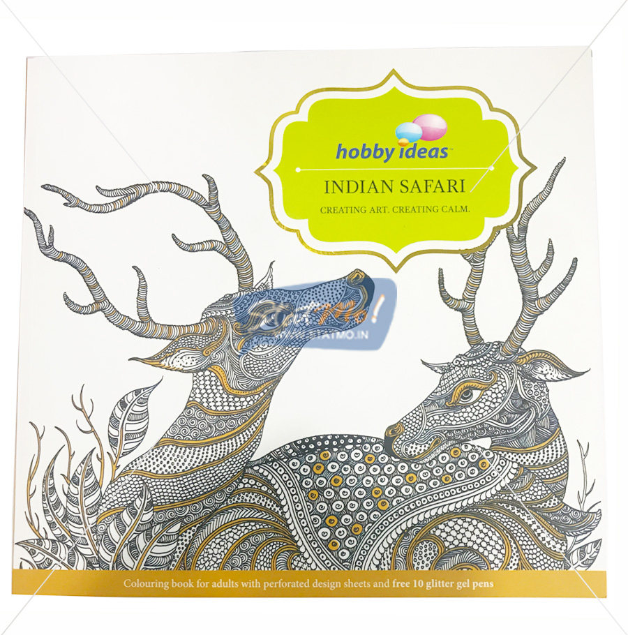 Pidilite Hobby Ideas Indian Safari Art Froms by StatMo.in