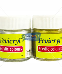 Pidilite Fevicryl Acrylic Gold and Silver Colour by StatMo.in