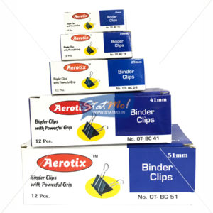 Aerotix Binder Clips by StatMo.in