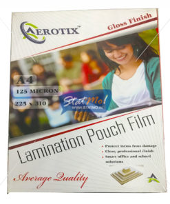 Aerotix Lamination Pouch 225x310x125mic by StatMo.in