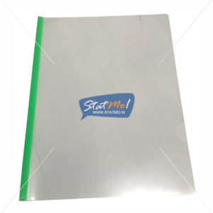 Aerotix Strip File Clear Transparent A4 StatMo.in